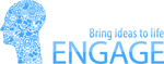 Thumb engage logo