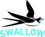 Thumb swallow logo