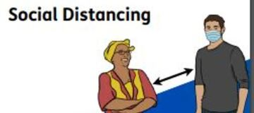 Meeting With Others Safely - Covid-19 Social Distancing Guidance Easy Read
