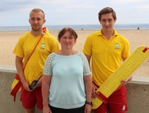 Lifeguards honoured for daring rescue