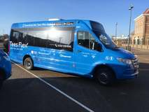 New on-demand bus service for the Tees Valley