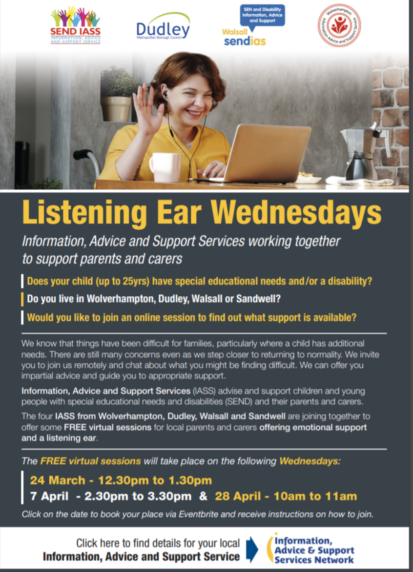 Listening Ear Events