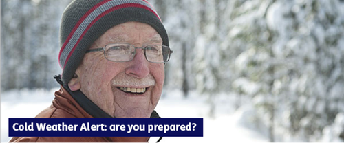 Cold Weather Alert: are you prepared?