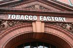 Thumb tobacco factory entrance