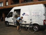 Thumb cycle therapist van