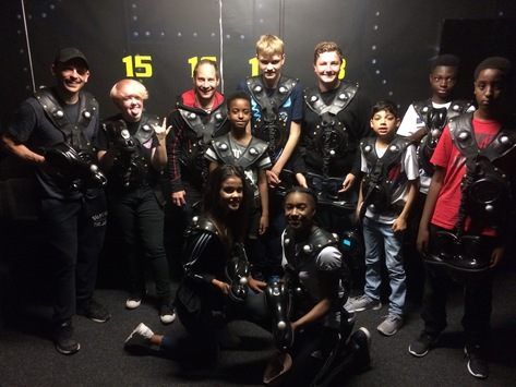 Go Karting and Laser Quest Trip