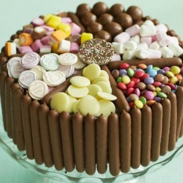 Thumb pick and mix choc cake 920x605