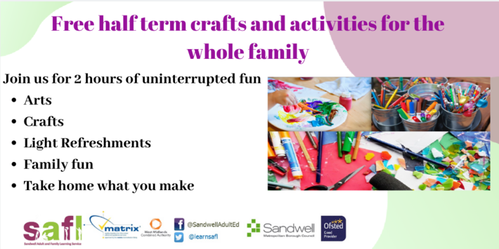 Free Arts and Crafts Event Jubilee Centre