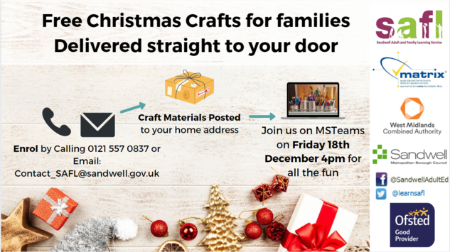 Free Christmas Crafts delivered straight to your door