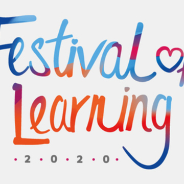 Thumb festival of learning 2020 logo feat