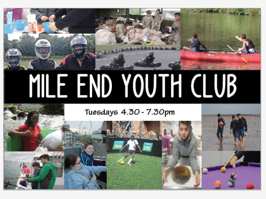 Mile End Youth Club at Southern Grove Community Centre - Ages 11-16